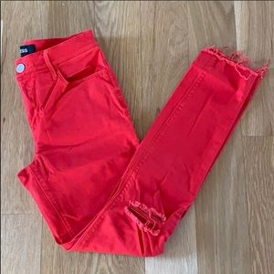 NWOT Express ankle jean leggings, mid rise